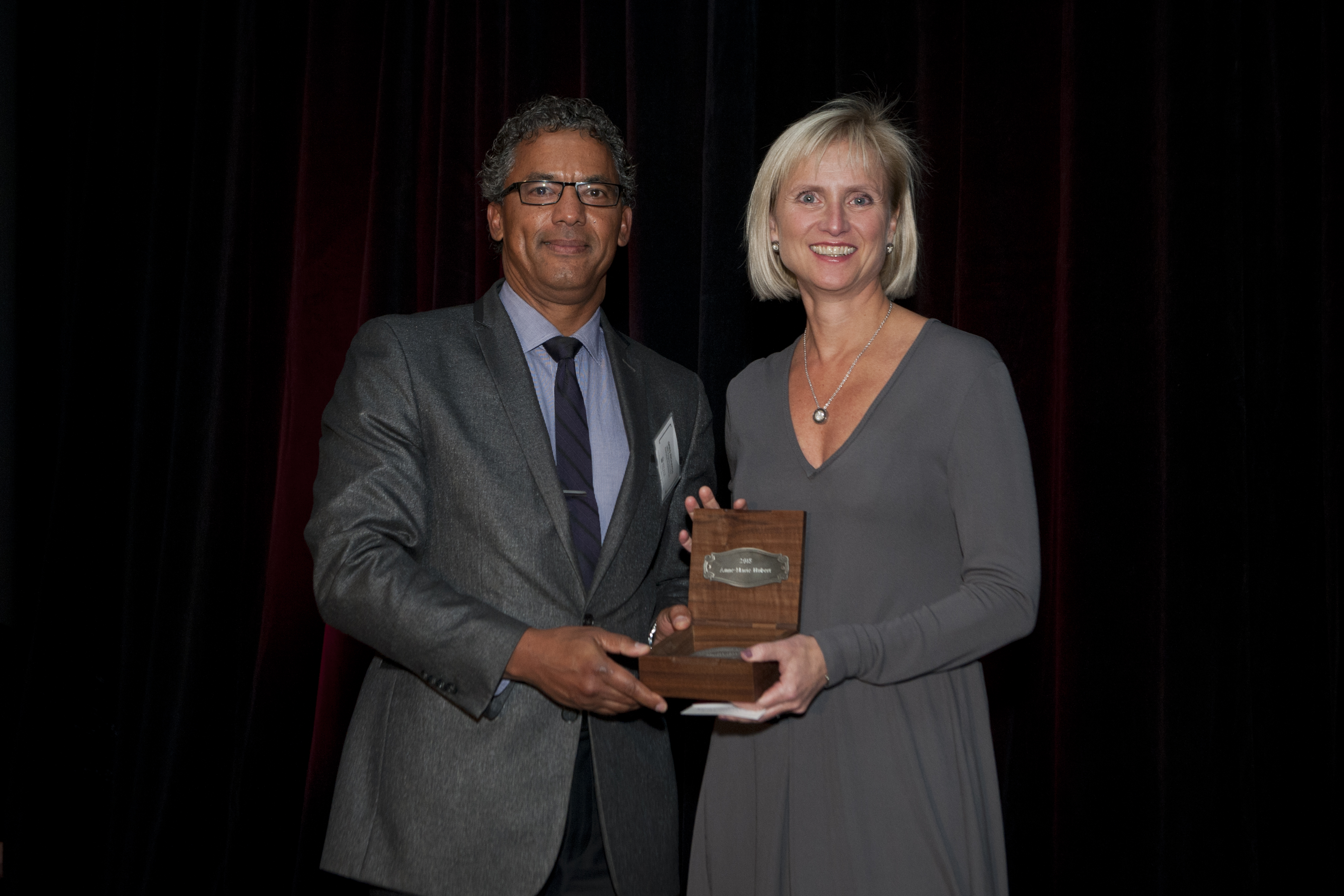 Gala of Excellence, Greg Richards and Anne-Marie Hubert