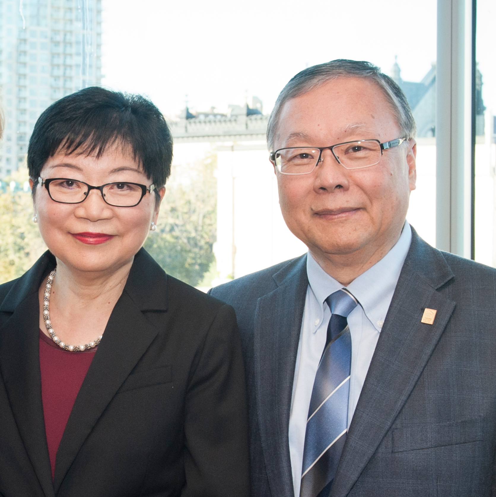 Lilian Goh and Swee Chua Goh