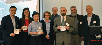 National Capital Region Thesis Competition and Poster Session recipients