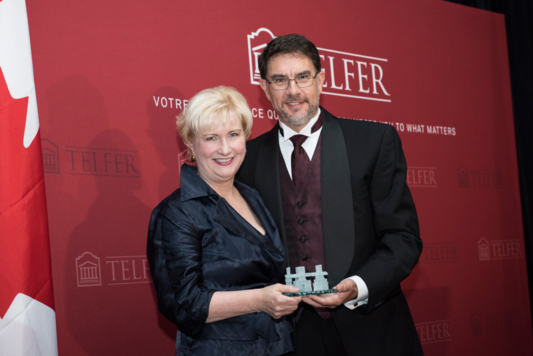 Gala of Excellence, Christine Kincaid and Dean François Julien